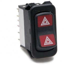 Hazard Flasher Rocker Switch Off-on