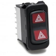 Hazard Flasher Rocker Switch Off-on