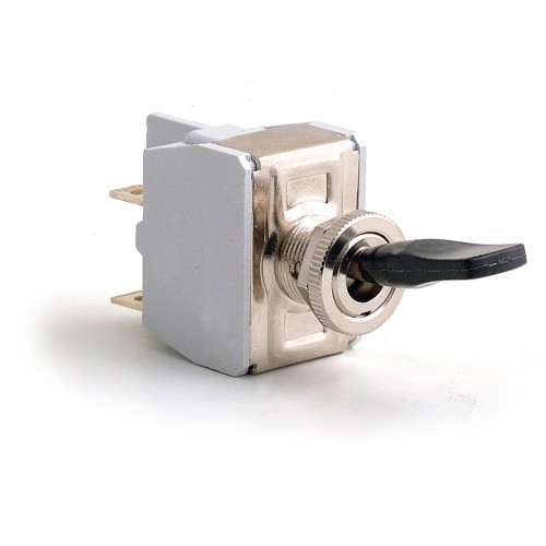 Toggle Switch - Off-on with Lucas Lever - 4 Terminals image #1