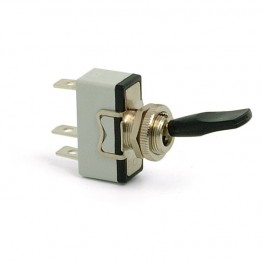 Toggle Switch - Sprung On-Off - Lucas Lever - 3 Terminals
