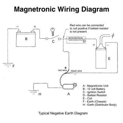 Electronic 12 Volt Ignition Coil Wiring Diagram from www.holden.co.uk