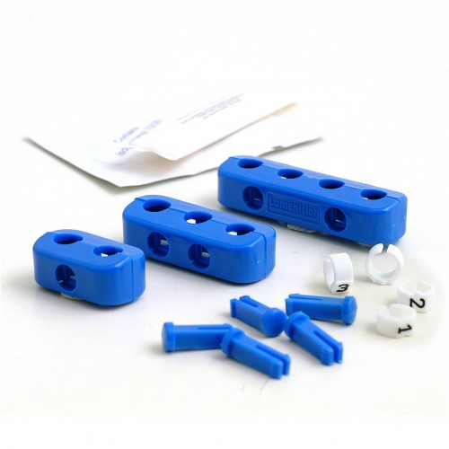 Clamp Set - 4 Cylinder Blue  with Ignition Lead Markers image #1
