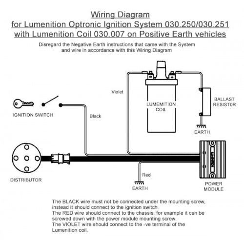 lumenition optronic ignition system pma50 for vintage and classic carsElectronic Ignition Lumenition #18