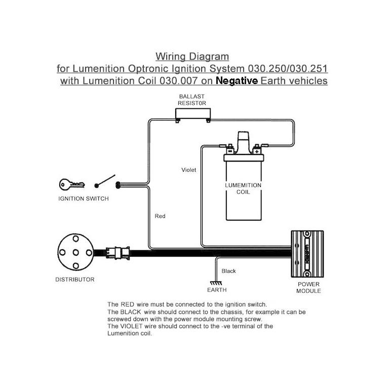 Lumenition Optronic Ignition System Pma50