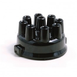 Delco Remy 8 Cyl Distributor Cap - Top Entry Push-in Type