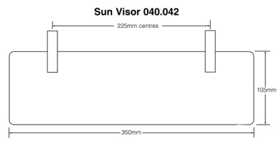 Sun Visor - Green