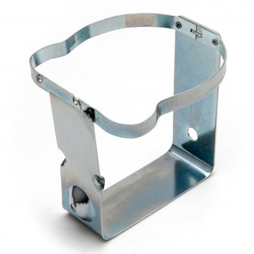 XK140 Windscreen Washer Bottle Frame - Silver