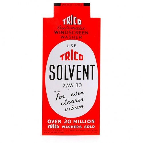 'Trico Solvent' Sticker image #1