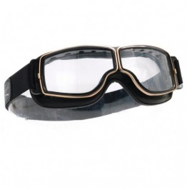 Aviator Pilot Optical Goggles - Gold