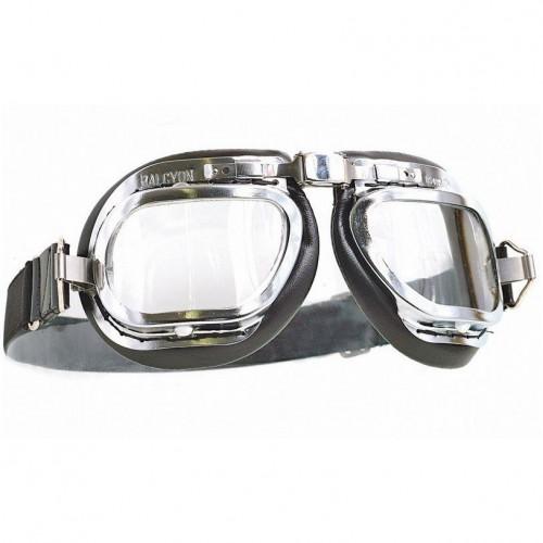 Mark 6 Goggles - Chrome/Black PVC image #1