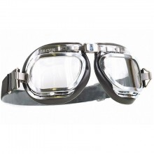 Mark 6 Goggles - Chrome/Black PVC