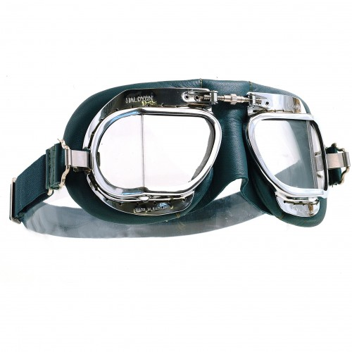Mark 49 Goggles - Green Leather image #1