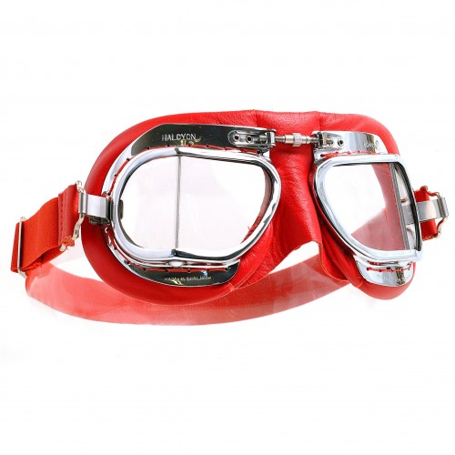 Mark 49 Goggles - Red Leather image #1