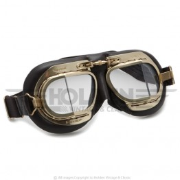 Mark 49 Goggles - Antique Brown Leather