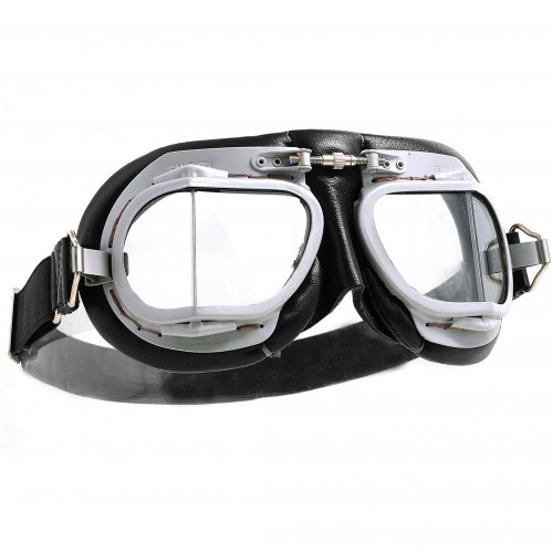 Mark 9 Goggles - Vintage Black Leather image #1