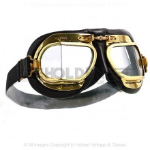 Mark 49 Goggles - Antique Black Leather