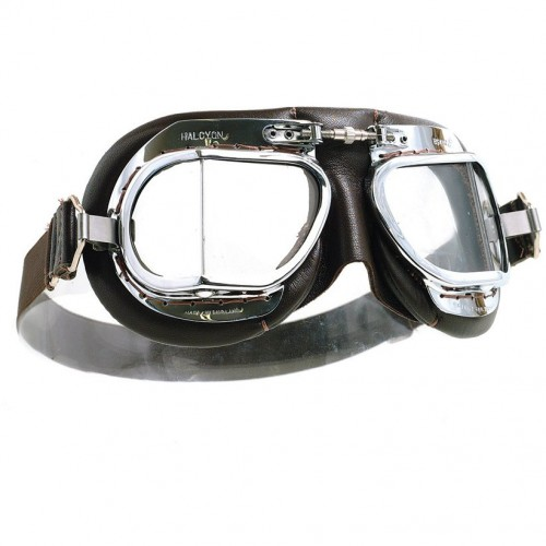 Mark 49 Goggles - Brown Leather image #1