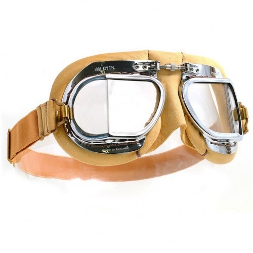 Mark 49 Goggles - Tan Leather image #1