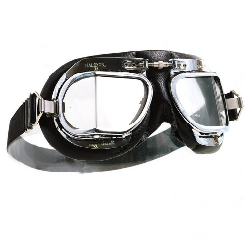 Mark 49 Goggles - Black Leather image #1