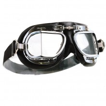 Mark 49 Goggles - Black Leather