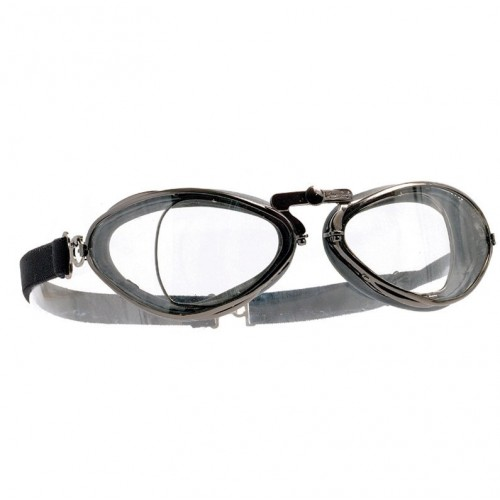 Aviator Retro Optical Goggles - Gunmetal image #1