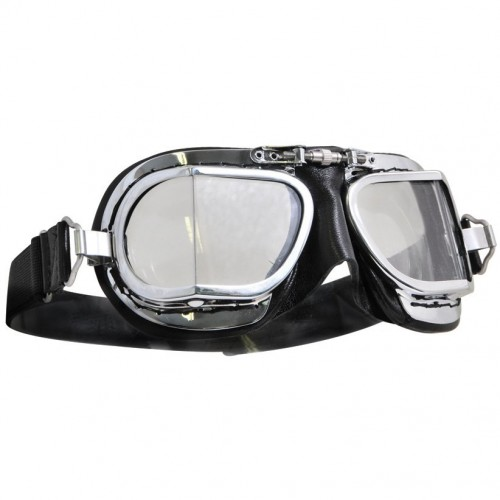 Mark 49 Goggles - Compact Black Leather image #1
