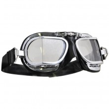 Mark 49 Goggles - Compact Black Leather