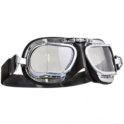 Mark 49 Goggles - Compact Brown Leather image #1