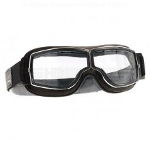Aviator Pilot Goggles - Chrome