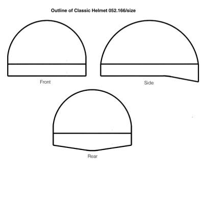 Classic Helmet Black/White