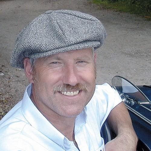 Vintage Motoring Cap - Mens image #6