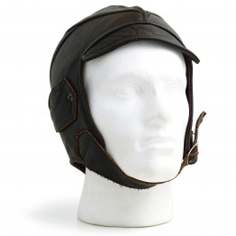 Gladiator Leather Flying Helmet (Brown)