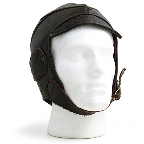 Gladiator Leather Flying Helmet (Brown) image #1