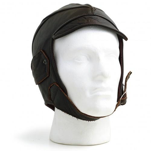 Gladiator Leather Flying Helmet (Brown) image #1