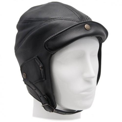 Gladiator Leather Flying Helmet (Black) image #1