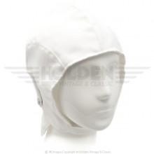 White Summer Flying Helmet