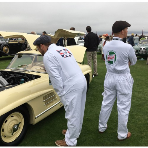 Team Castrol Classic White Mechanics Overalls image #5