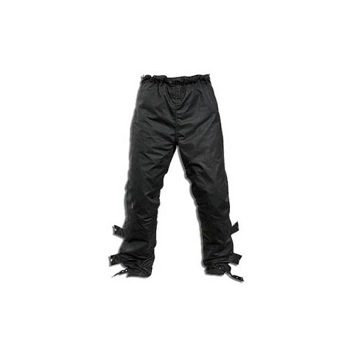 Holden Red Marley Waxed Cotton Overtrousers
