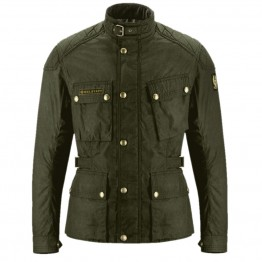 Belstaff Mcgee Wax Cotton Jacket - Military Green