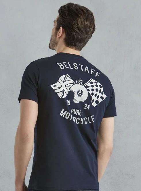 Belstaff Mccallen T-Shirt - Navy image #2
