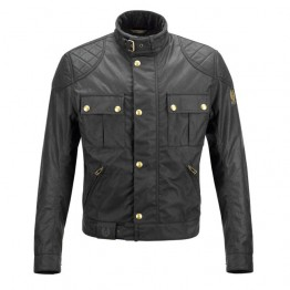 Belstaff Brooklands 'Mojave' Waxed Jacket - Black - Men