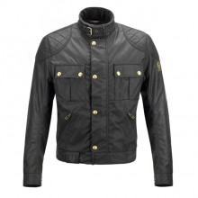 Belstaff Brooklands 'Mojave' Waxed Jacket - Black - Men