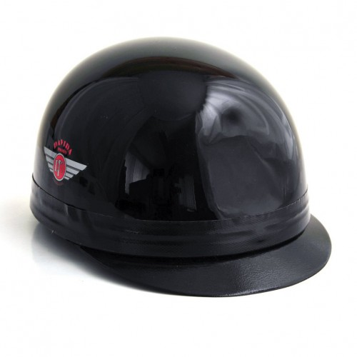 Davida Classic Helmet with Peak Black S 54-58 image #1