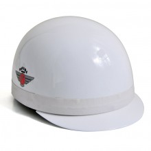 Davida Classic Helmet with Peak White L 61-64