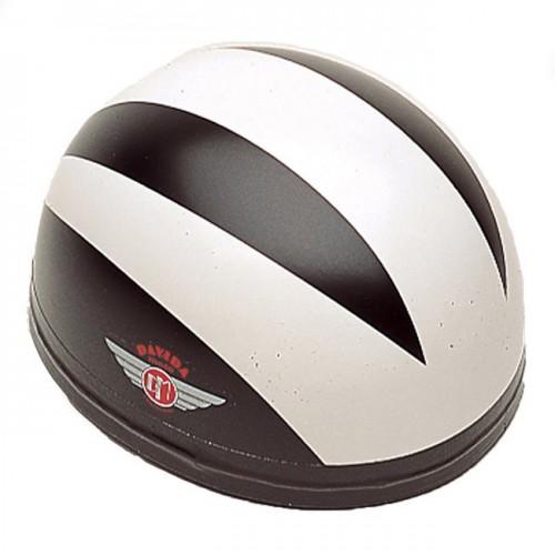 Davida Classic Helmet Black 3 White Lines S 54-58 image #1