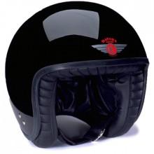 Davida Jet Helmet Gloss Black XXL
