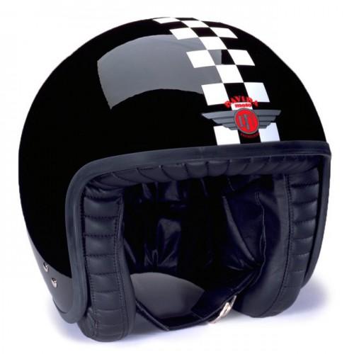 Jet Helmet 2 Tone Check image #1
