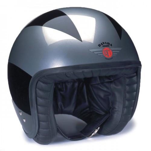 Davida Jet Helmet Special Black/Silver XL 60-62 image #1