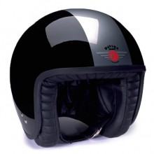 Davida Jet Helmet 2 Tone Black/Silver XL 60-62