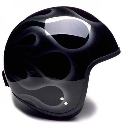 Davida Jet Helmet Flame XXL image #1